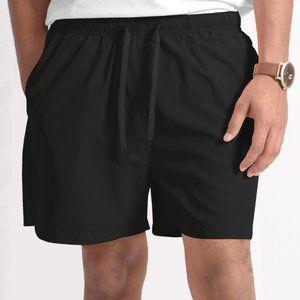 OLGYN Men's Black Swim Shorts